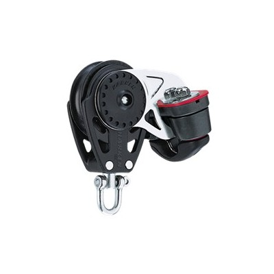 HARKEN - 75 MM WITH CLEAT CARBO BLOCK WITH CLAM CLEAT