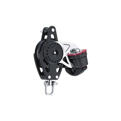 HARKEN - 75 MM WITH CLEAT AND BECKET CARBO BLOCK WITH BECKET AND CAM CLEAT