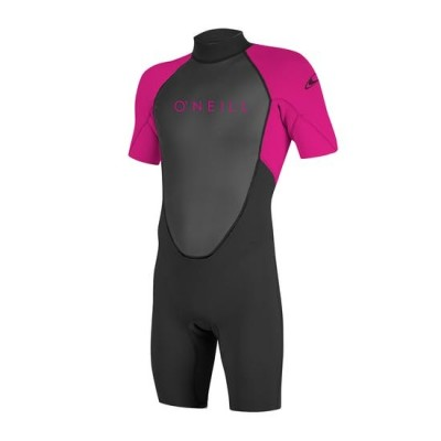 O'NEILL - REACTOR 3/2mm Back Zip SPRING WETSUIT PINK Youth