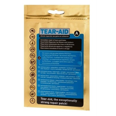 IMMEDIATE REPAIR OF TEARS AND HOLES. EXTREMELY STRONG, WATER TIGHT, AIRTIGHT, VERY ELASTIC, PERMANENT.