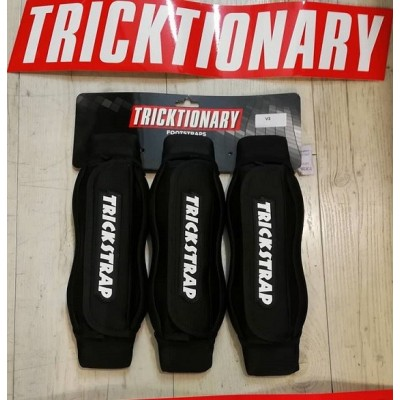 """TRICKTIONARY- FOOTSTRAPS FREESTYLE """" TRICKSTRAPS """"V3"""