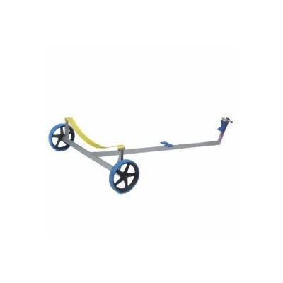 PRACTIC - LASER TROLLEY WITH BLUE ANTI-HOLE WHEELS