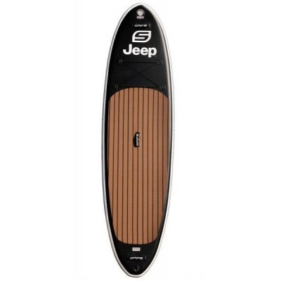 """SAFE - INFLATABLE SUP BOARD JEEP® 10'6"""" + LEASH + PADDLE"""