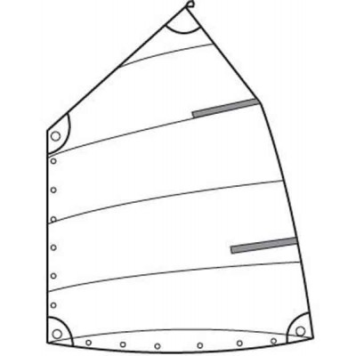 OPTIPARTS - SCHOOL SAIL WITHOUT WINDOW