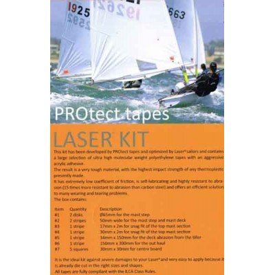 KIT LASER PROTECTION COMPLETE PROTECT TAPES