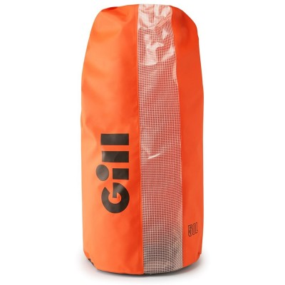 GILL - WATERPROOF DRY BAG 25 LT WITH TWO STRAPS ORANGE
