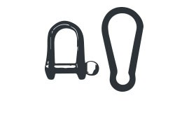 Shackles & Carabiners